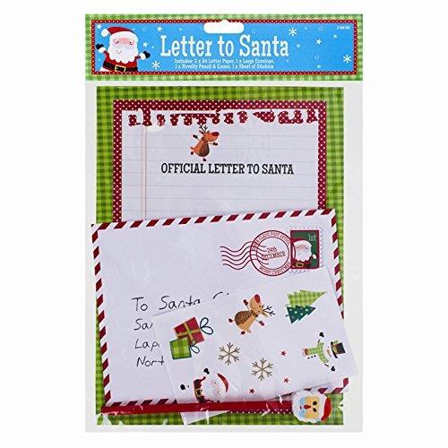 La carta da lettere per la lettera a Babbo Natale