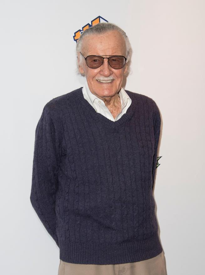 Stan Lee  in una delle sue apparizioni pubbliche