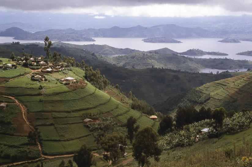 Villaggio in Ruanda per viaggio di gruppo