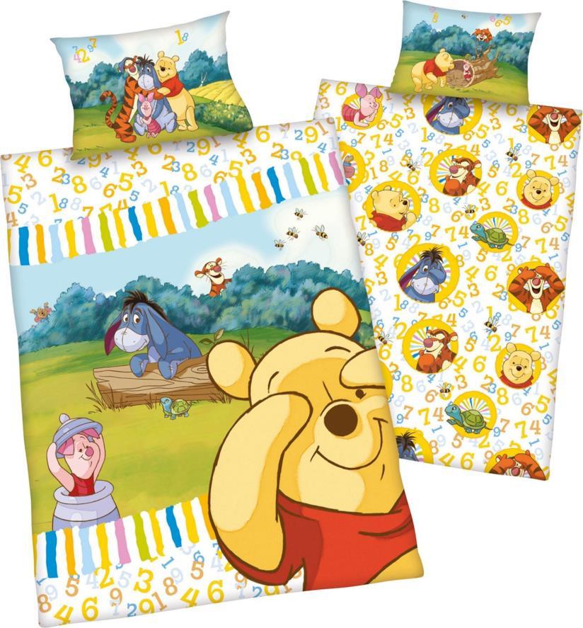 Winnie The Pooh Lenzuola.Winnie The Pooh Gli Articoli Per La Cameretta Del Bimbo