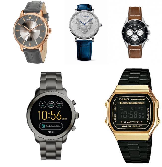 Idee regalo per lui: orologi