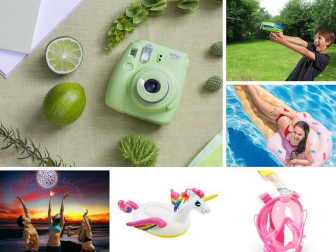 Collezione accessori spiaggia Amazon Tropical Summer