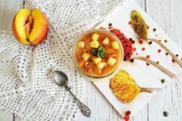 Barattolino con purea di frutta