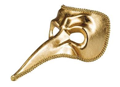 Maschera per gli occhi Venice oro