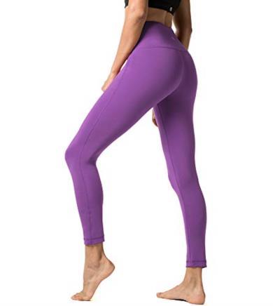 Pantalone viola lungo