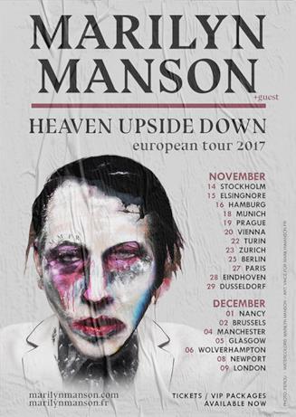 Marilyn Manson, le date del tour 2017