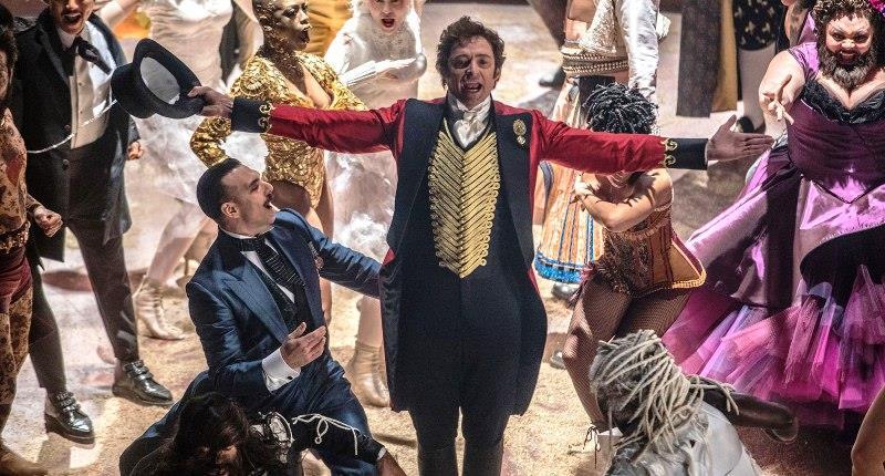 Una immagine di Hugh Jackman tratta dal film The Greatest Showman