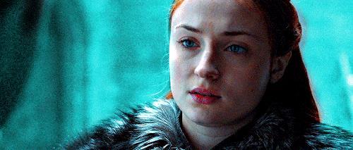 Sansa spaventata