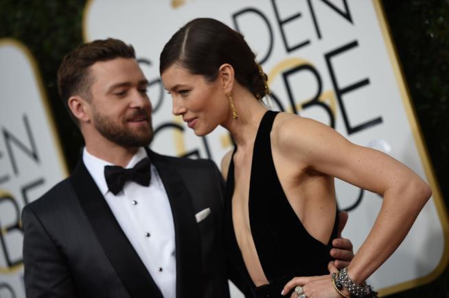 La complicità tra Justin Timberlake e Jessica Biel