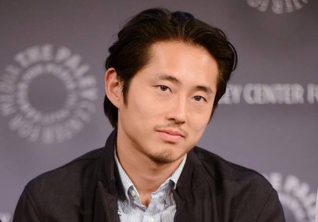 La star Steven Yeun in un'immagine