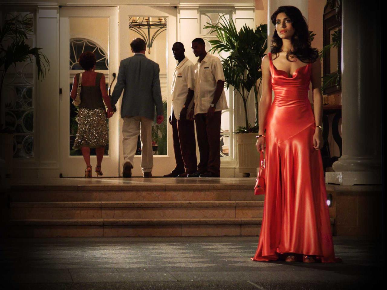 Caterina Murino in una scena del film Casino Royale