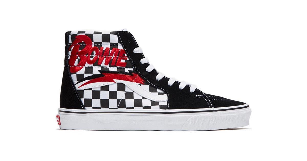 16f84f0ff2faf In arrivo 4 modelli di sneakers Vans x David Bowie