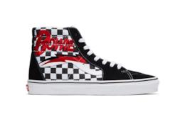 Vans Old Skool nere con tomaia a scacch e suola bianca