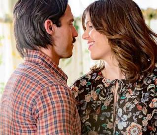 This Is Us: Jack e Rebecca in una scena dalla serie