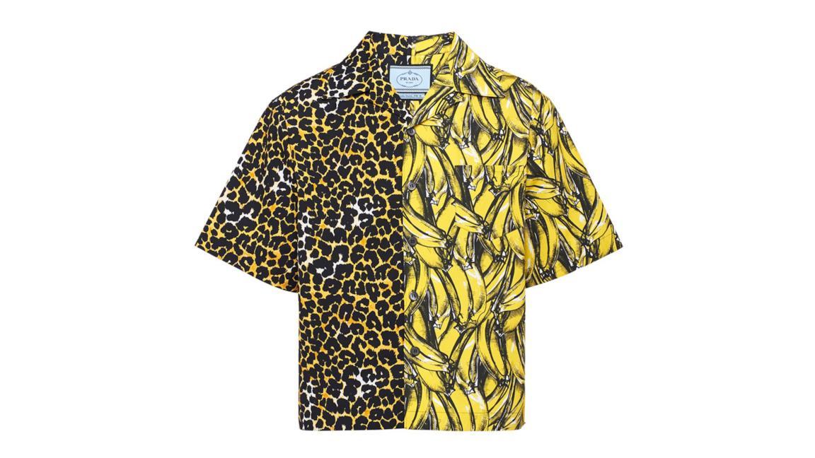 promo code 46369 328cc Le camicie Prada a doppia stampa sono il capo cult per l'estate