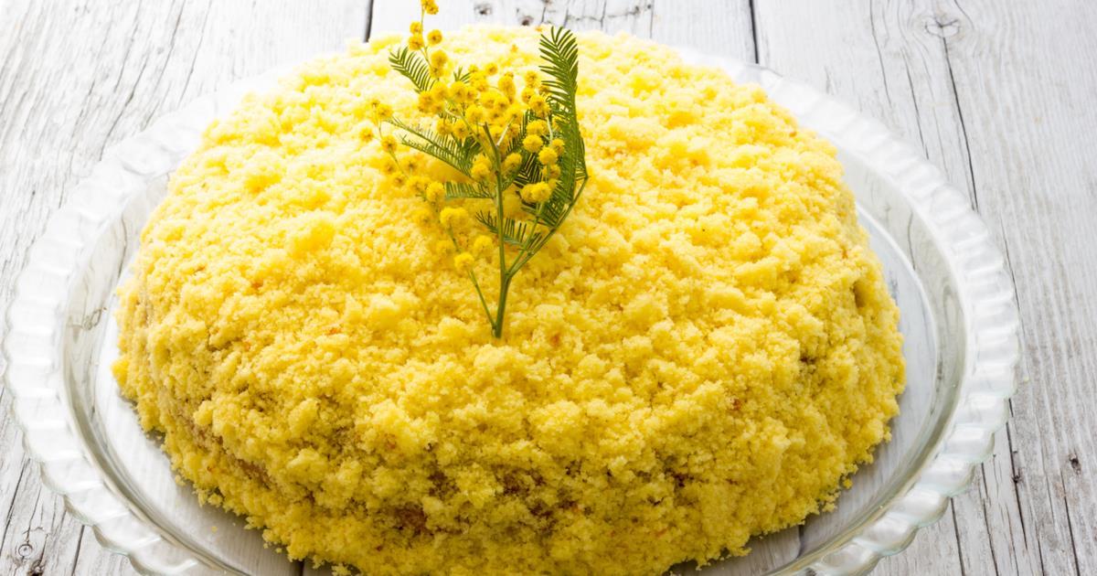 Torta mimosa: la ricetta tradizionale con il pan di Spagna e la crema