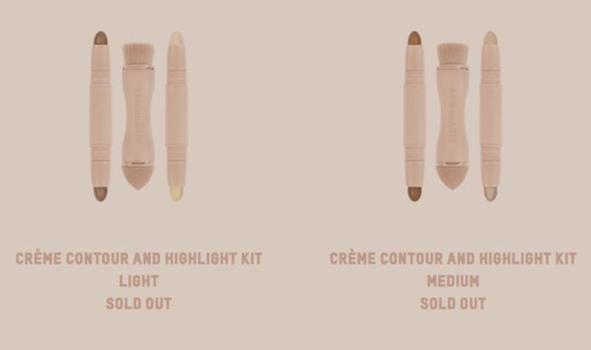 I kit per il contouring di Kim Kardashian, già sold out