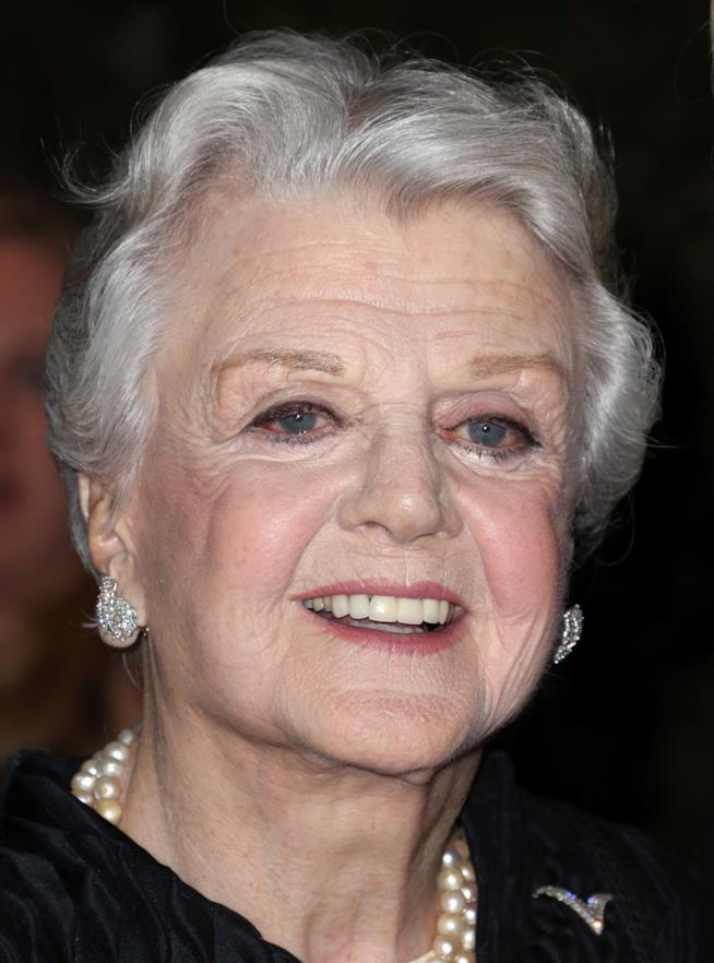 Angela Lansbury in primo piano