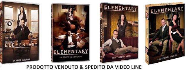 Cofanetto DVD di Elementary - Stagioni 1-4