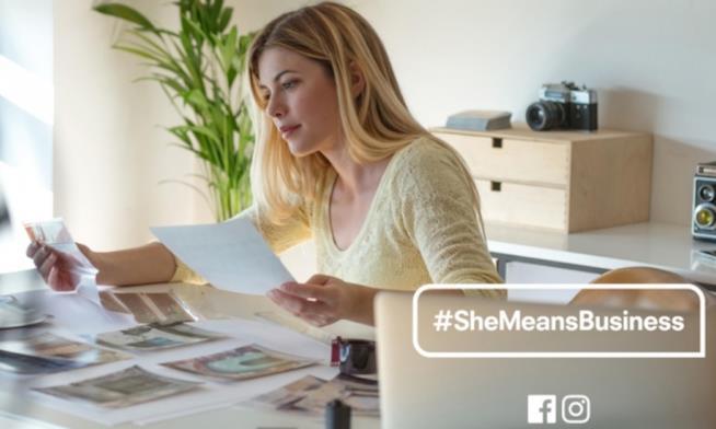 #SheMeansBusiness nuovo progetto di Facebook