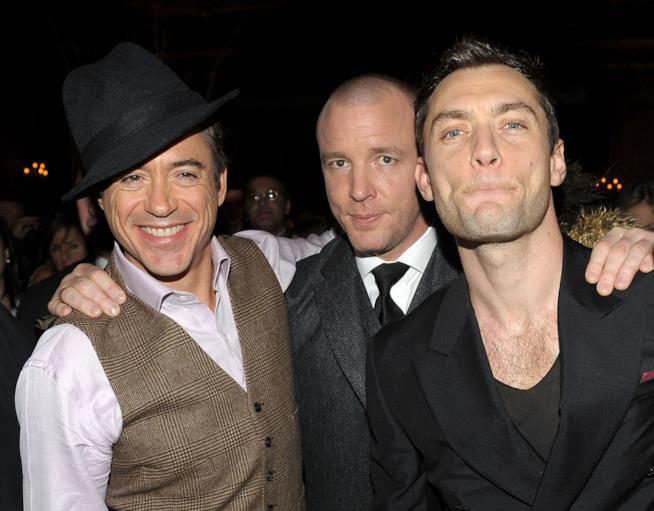 Gli attori ed il regista di Sherlock Holmes (2009)