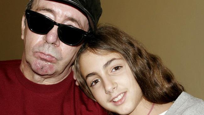 Francesco Nuti e la figlia Ginevra