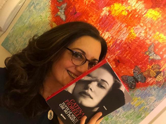 La scrittrice siciliana Catena Fiorella in libreria con Tutte le volte che ho pianto
