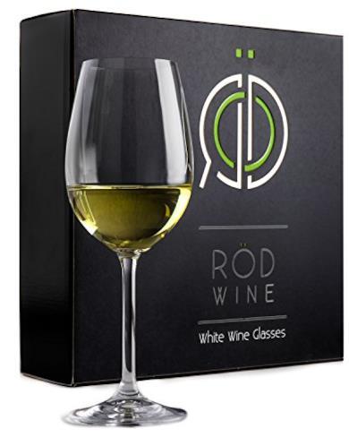 Set di bicchieri da vino bianco