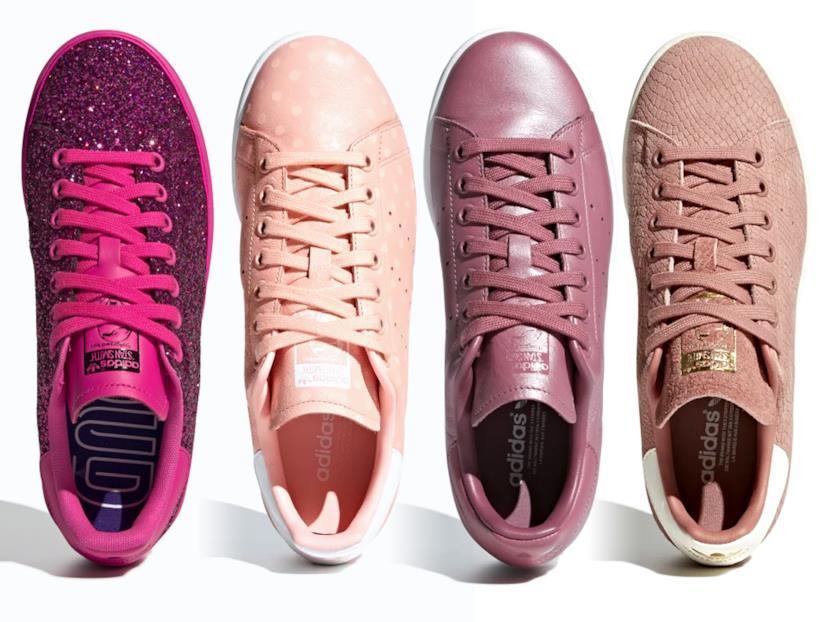 4 modelli di Adidas Stan Smith rosa