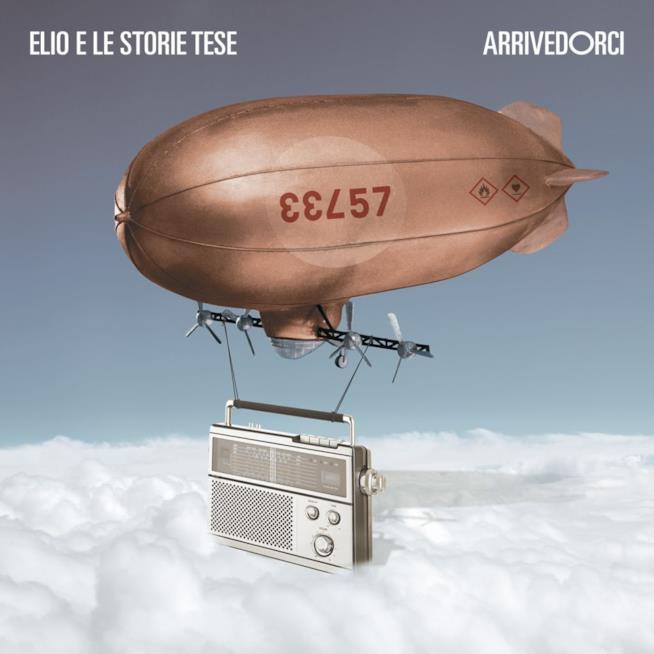 La copertina di Arrivedorci, l'ultimo album degli Elio e le Storie Tese