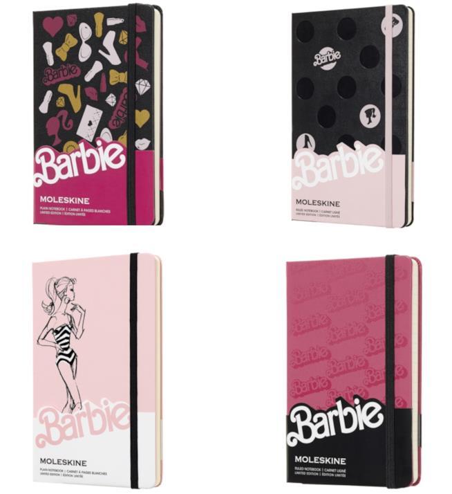 Le Moleskine della collezione Barbie
