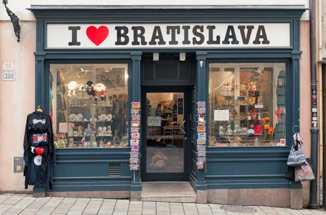 Shop a Bratislava