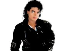La pop star Michael Jackson