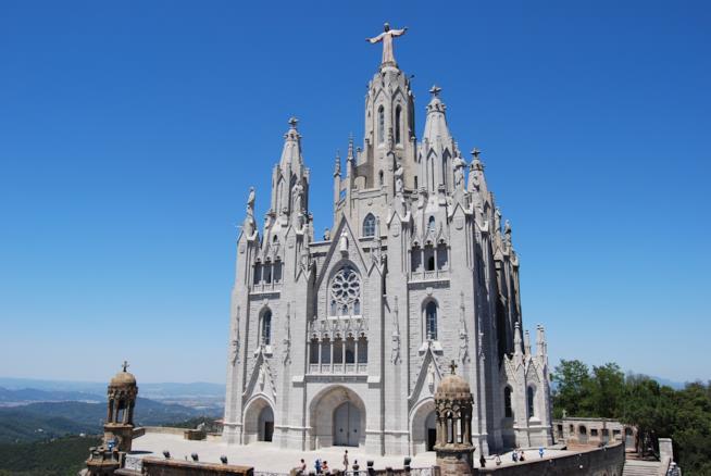 La chiesa del Tibidabo