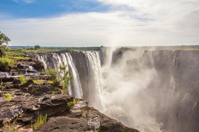 Panoramica delle cascate