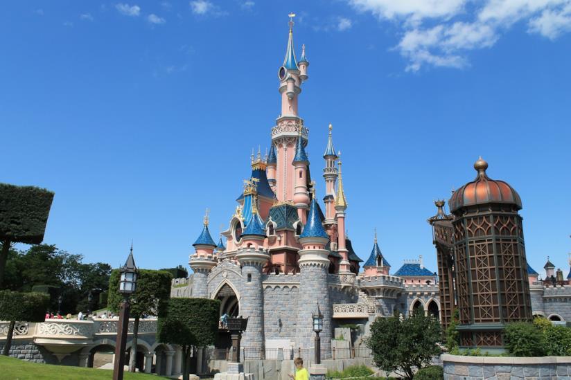 Disneyland Paris: il castello della Bella addormentata nel bosco
