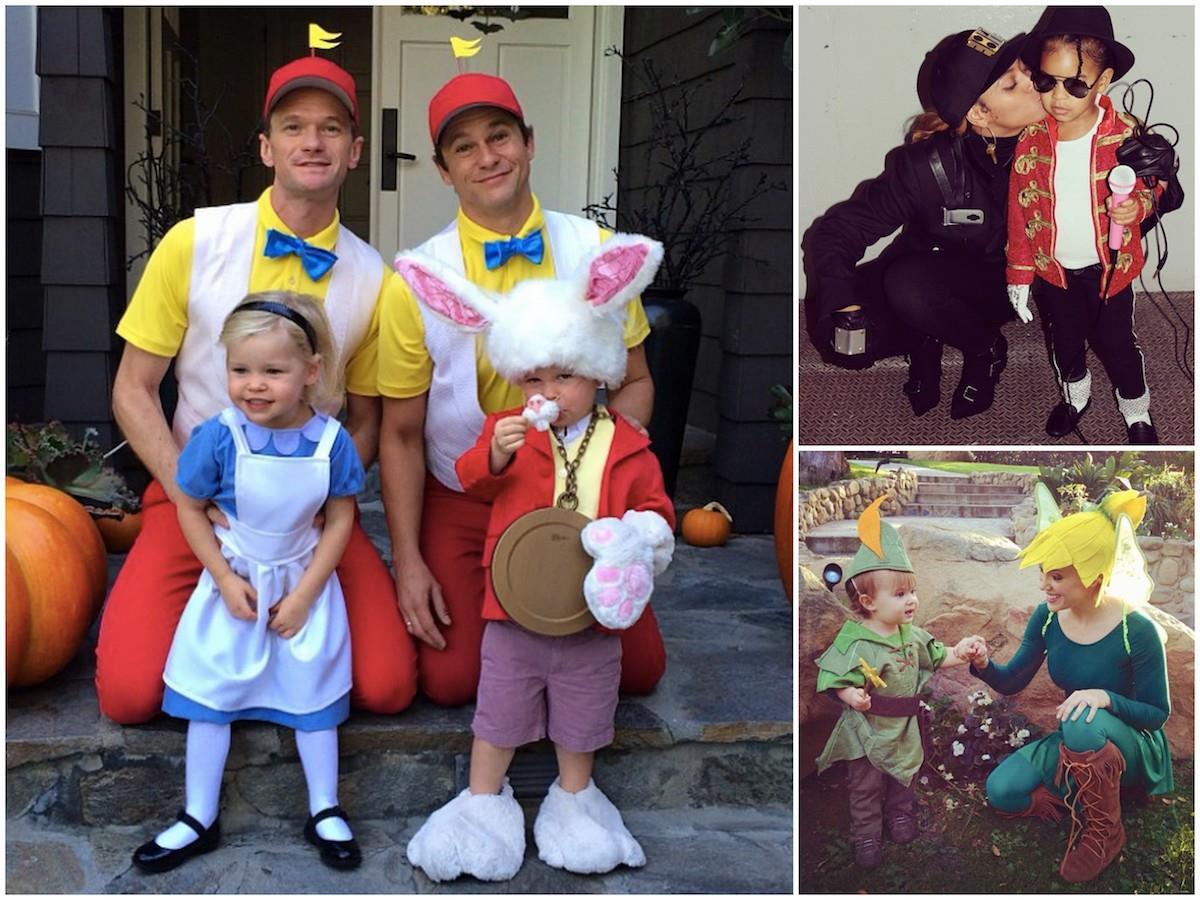 Alcuni dei travestimenti di Halloween dei figli dei vip