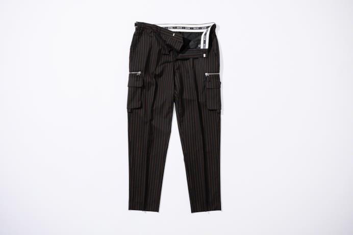 Pantaloni Cargo gessati con tasche laterali Supreme/Gaultier