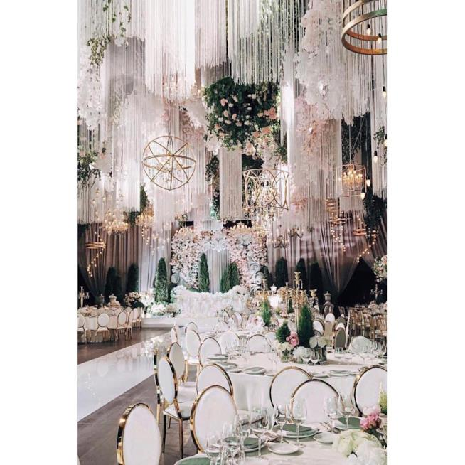 Un esempio di ricevimento a The Wedding Gallery