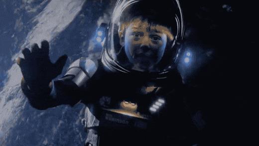 Una scena di Lost in Space