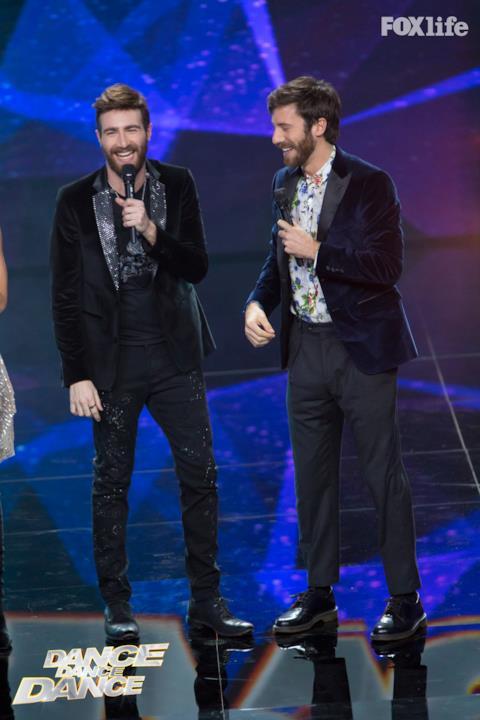 Lorenzo Licitra il vincitore di X Factor a Dance Dance Dance