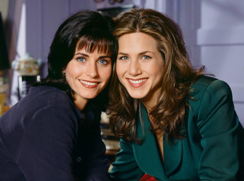 Jennifer Aniston e Courteney Cox agli esordi di Friends