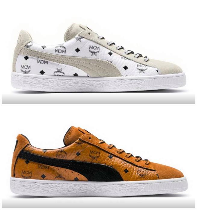 Collage di sneaker Puma Suede