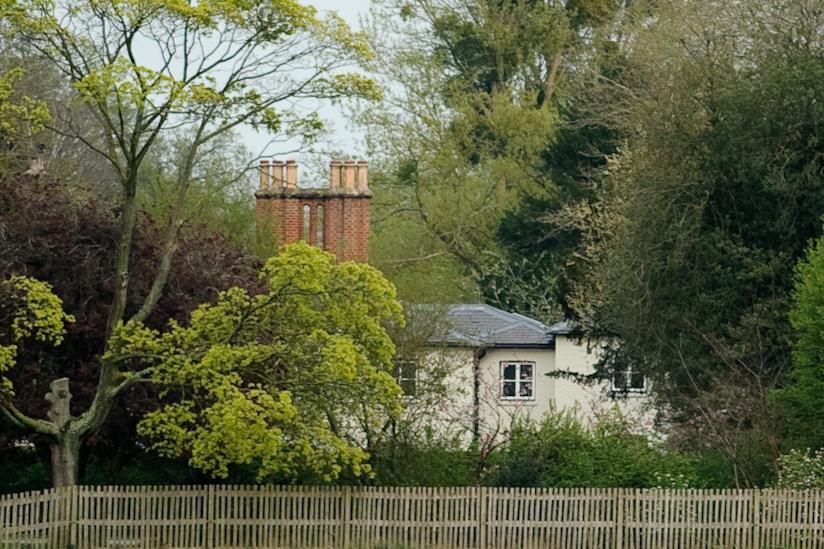 Una vista del Frogmore Cottage