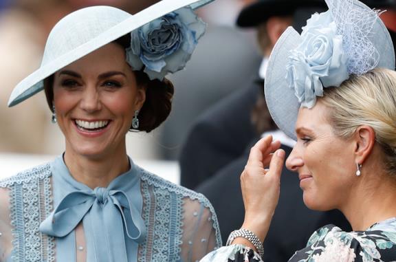 Kate Middleton e Camilla Parker Bowles in carrozza