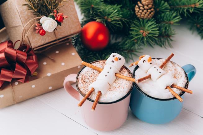 Cioccolata con marshmallow