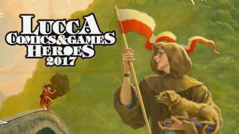 Il poster del Lucca Comics & Games 2017