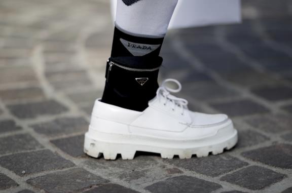 Marsupio alla caviglia Pitti Uomo 96
