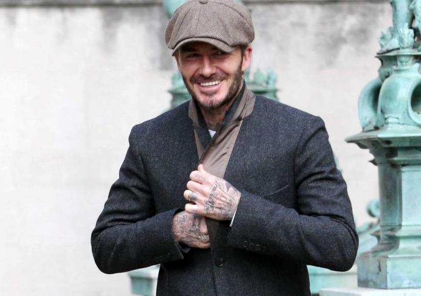 David Beckham sembra proprio uno dei personaggi di Peaky Blinders