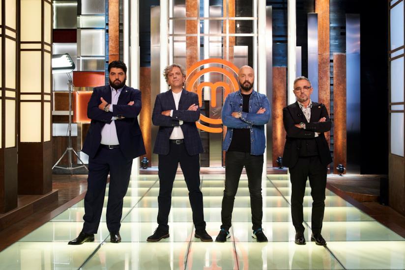 MasterChef Italia 8: Antonino Cannavacciuolo, Giorgio Locatelli, Joe Bastianich  e Bruno Barbieri
